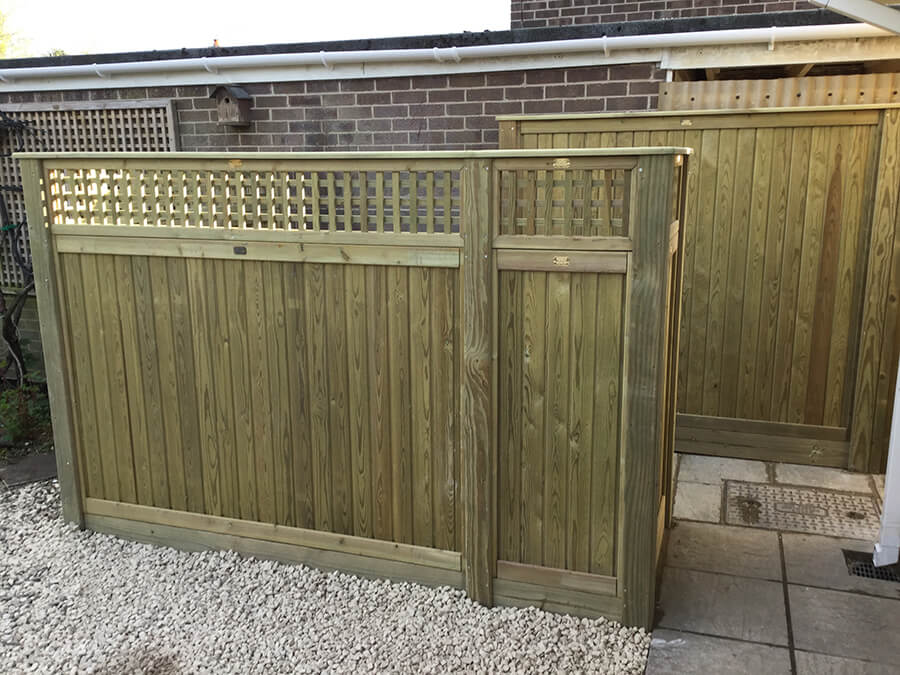Tongue and Groove with Trellis