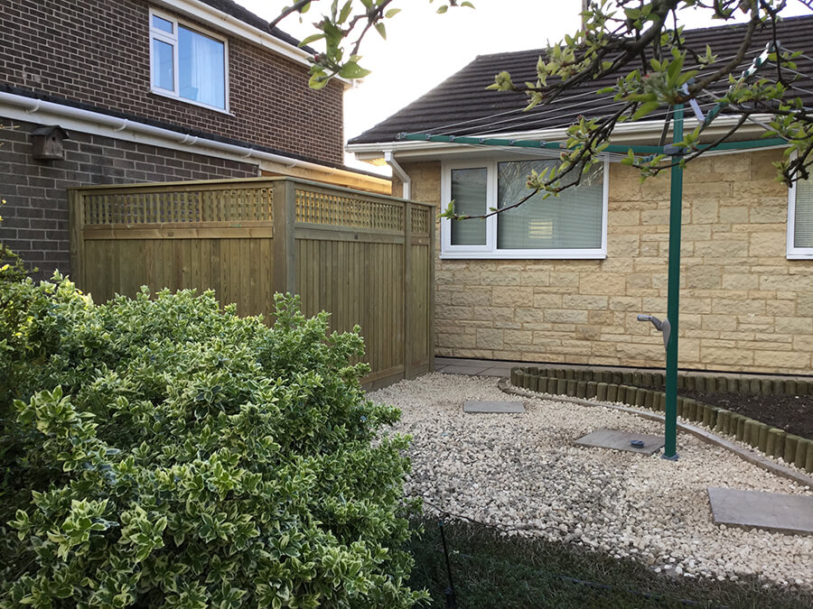 Tongue and Groove fence panels