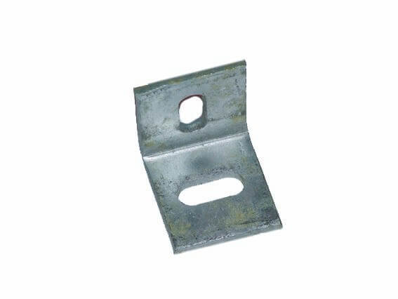 2 x 75 mm x 50x 50x 6 mm Galvanised angle unequal cleats fencing roofing bracket