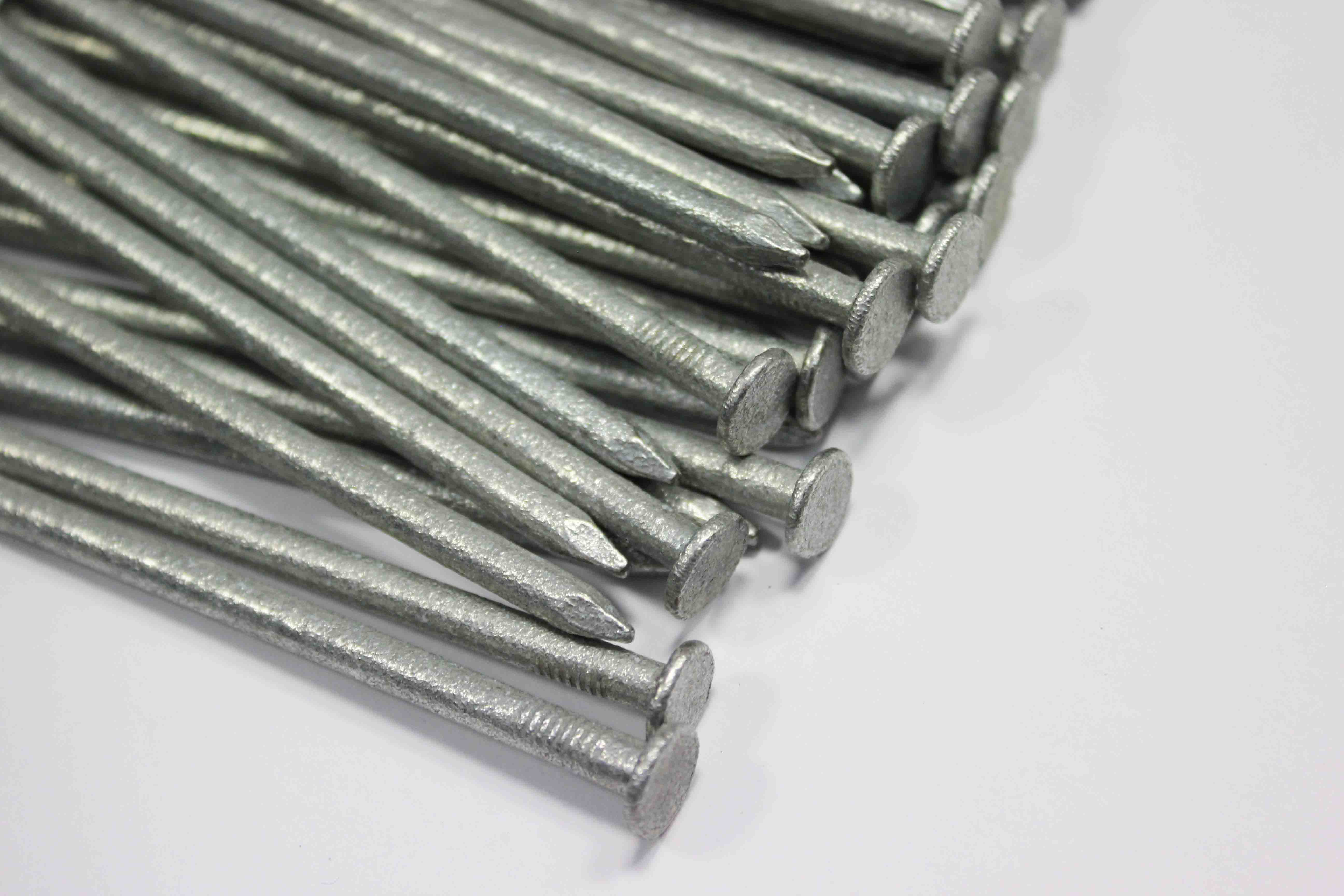 Galvanised 100mm fencing nails