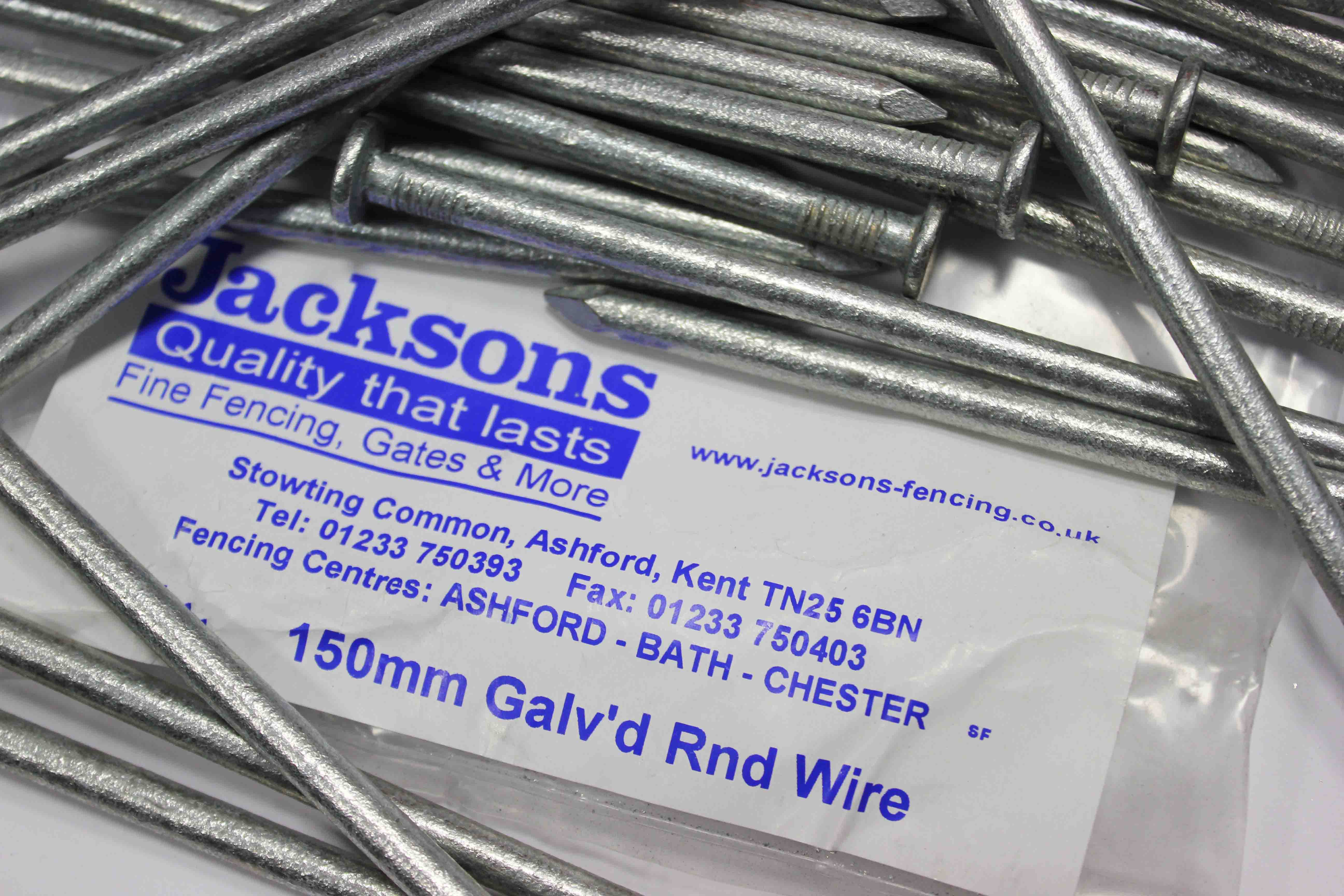 6 inch 150mm galvanised nails