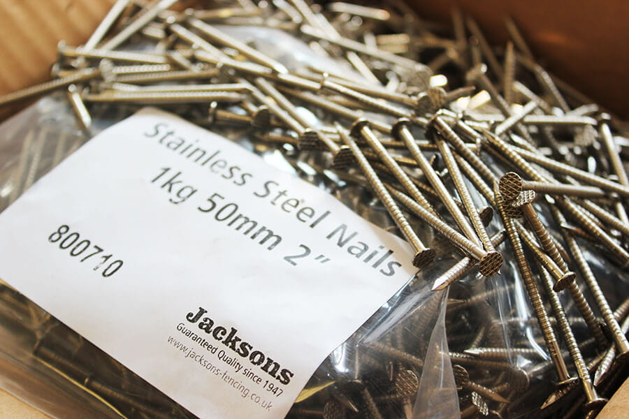 50mm nails stainless steel