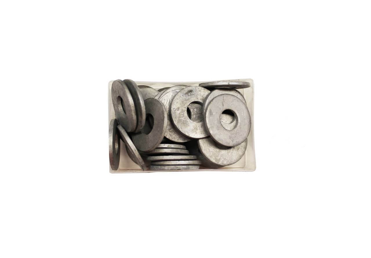 Galvanised washers