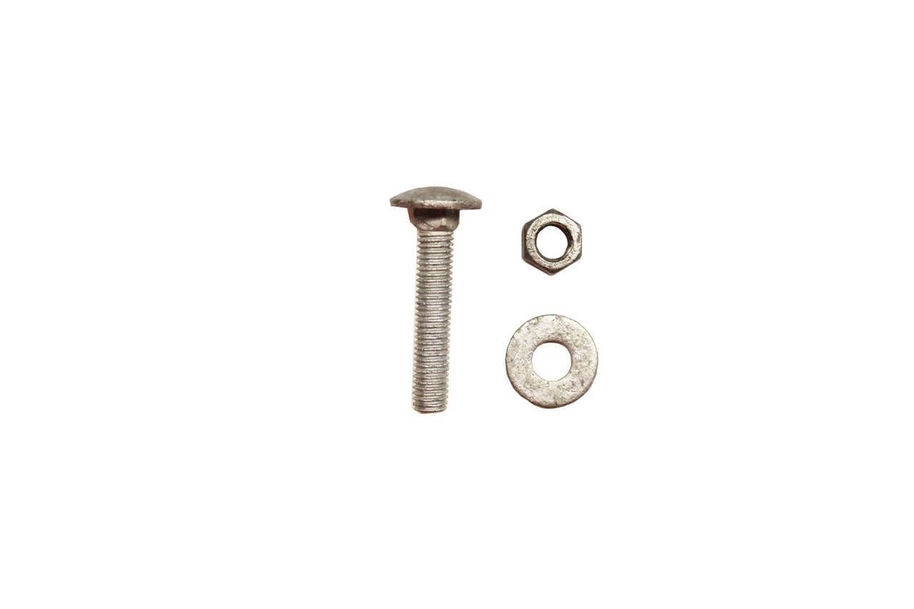 M8 50mm screw, washer and bolt fixings