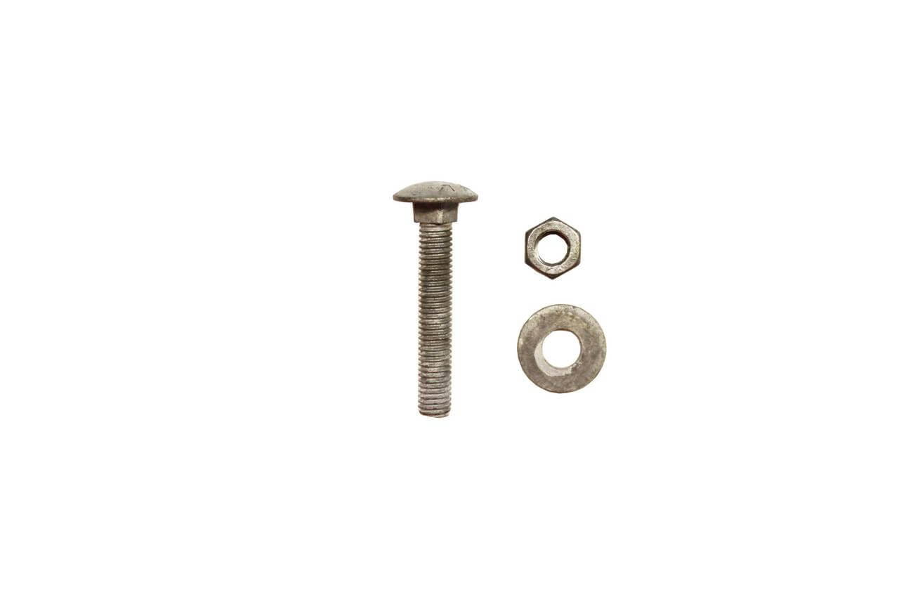 M8 55mm screw, washer and bolt fixings
