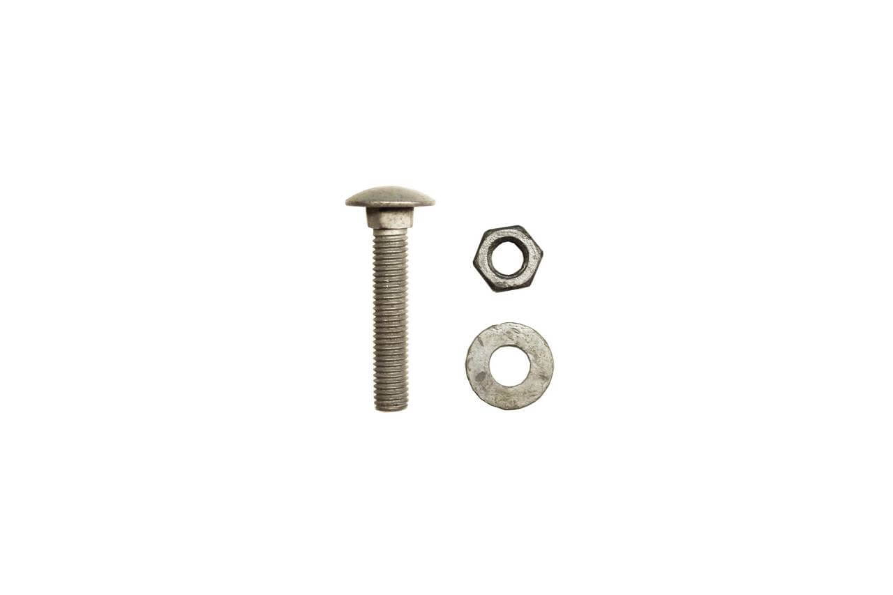 M10 55mm screw, washer and bolts fixings