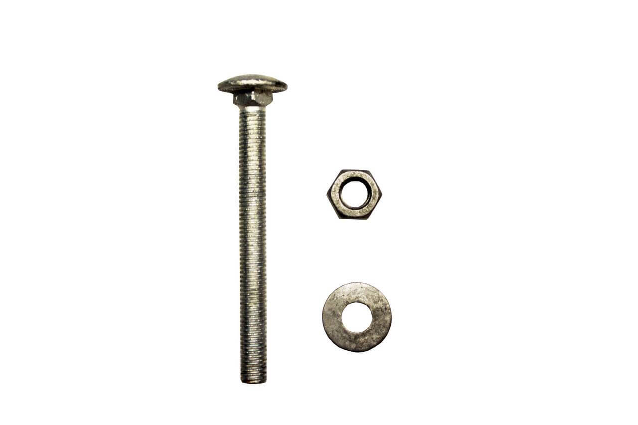 M10 x 100m screw, washer and bolts fixings
