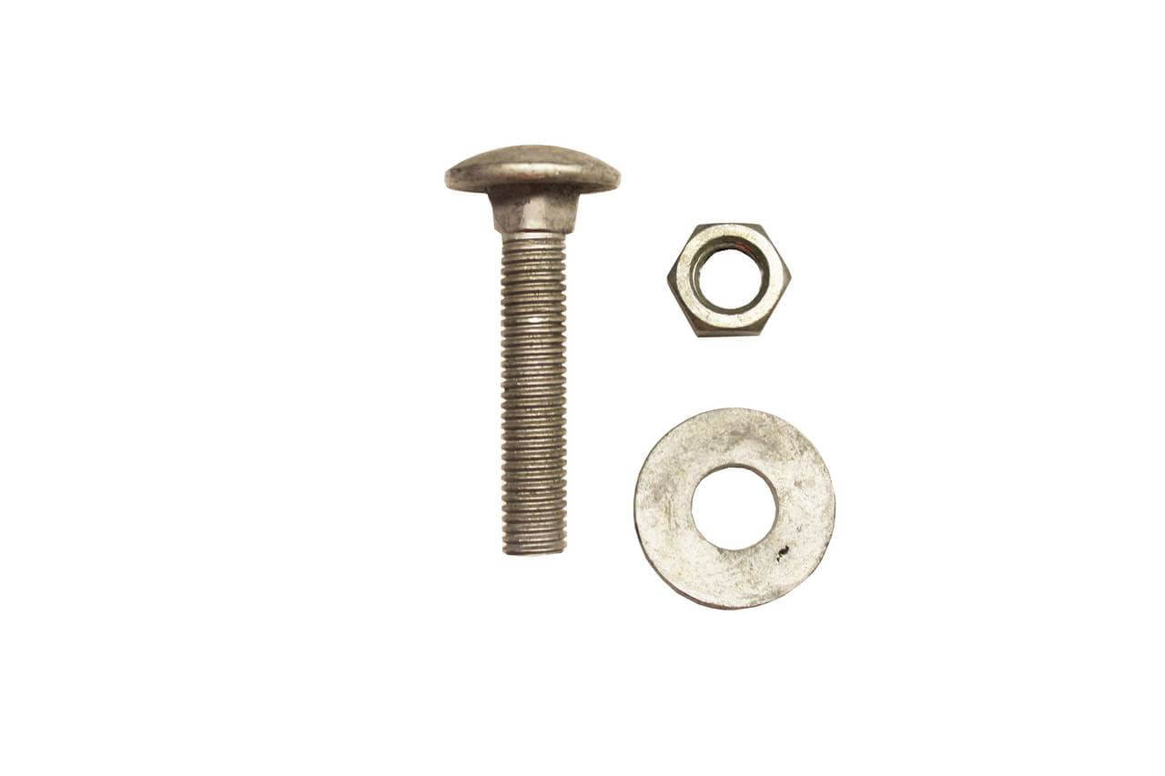 M12x 55 screw, washer and bolt fixings