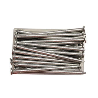 Galvanised nails
