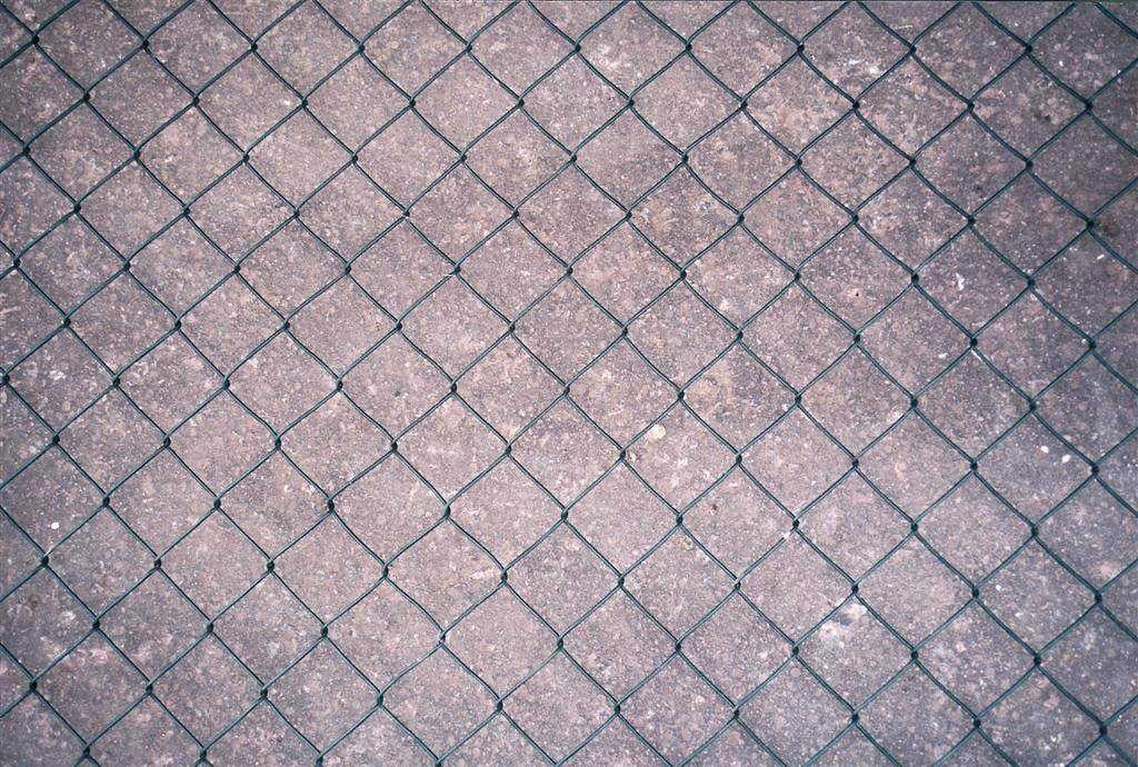 Chain link with PVC Coating