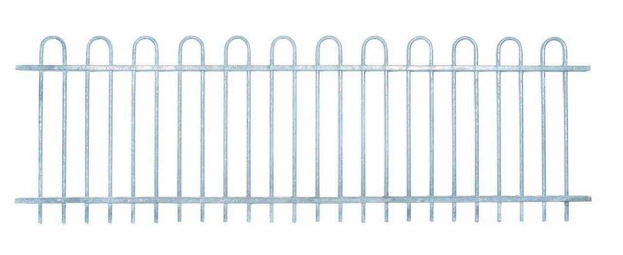 Bowtop Panel Galvanised 071460