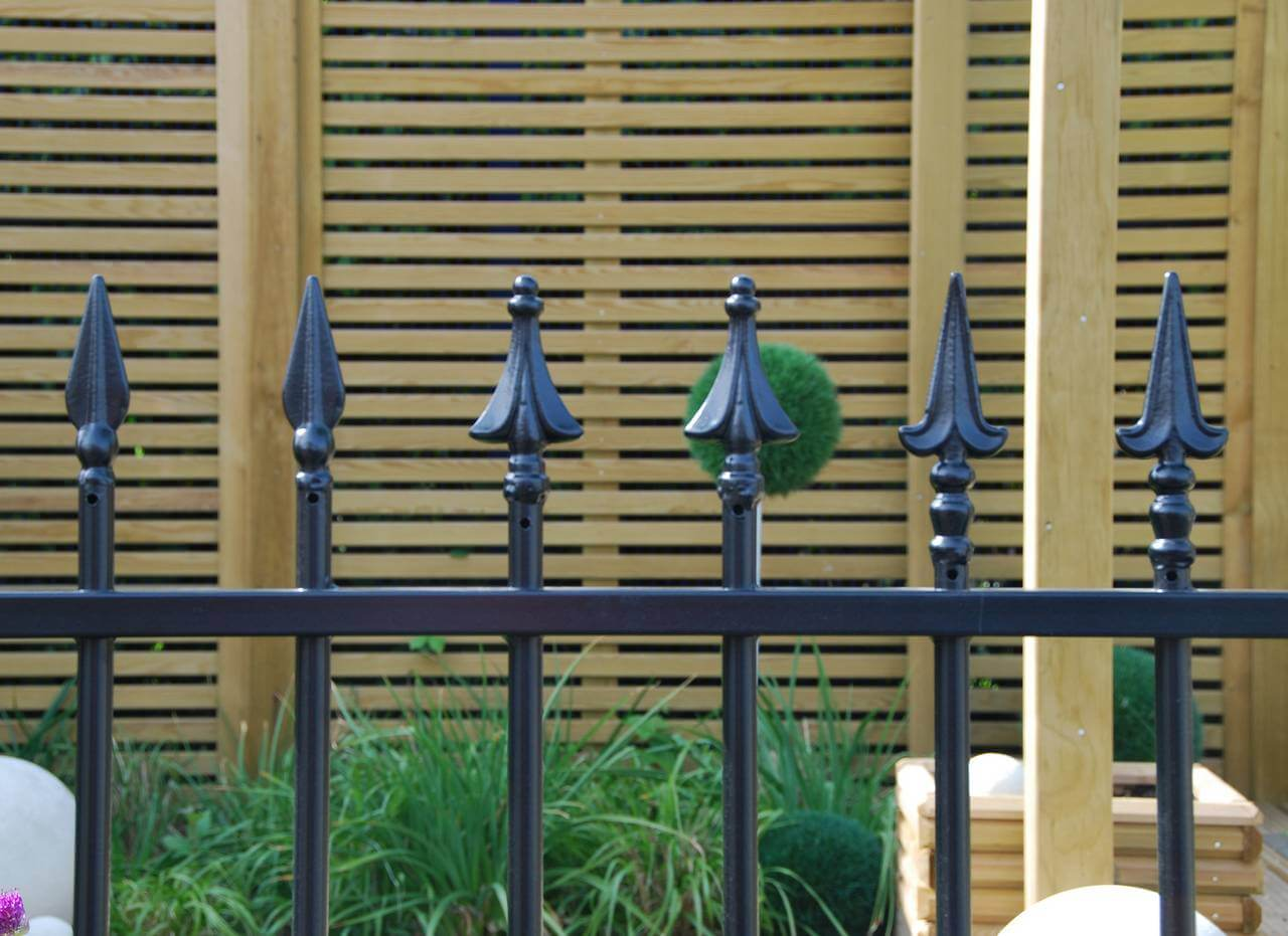 Barbican Imperial Residential finials 1 - 3