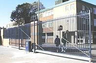 Automated Barbican Sliding Gate AFANAX