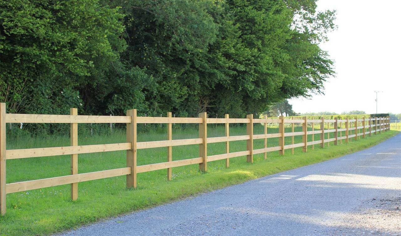 Post Amp Rail Morticed Jacksons Fencing