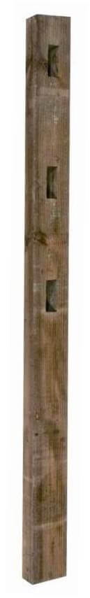 Morticed Inter Fence Post