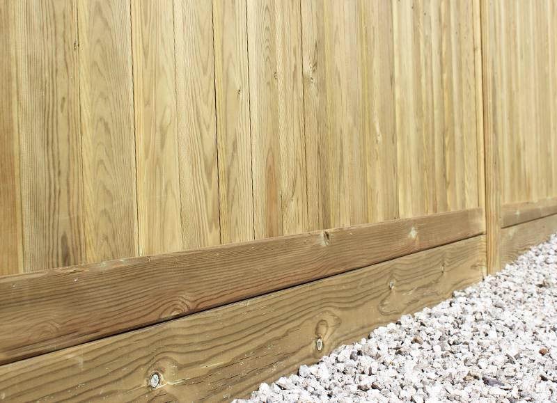 gravel boards jacksons fencing. Black Bedroom Furniture Sets. Home Design Ideas