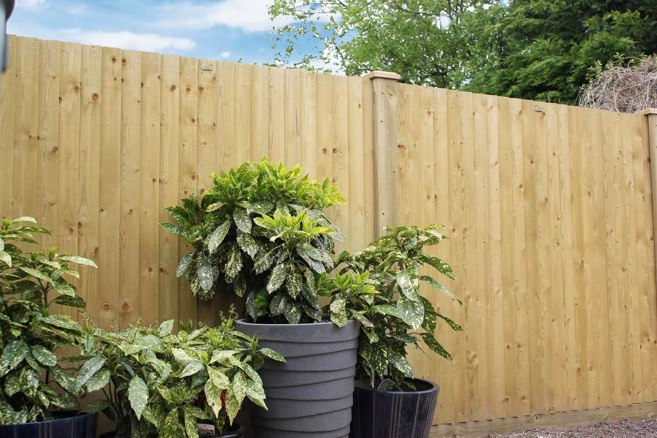 Featherboard Closeboard Fencing Panels