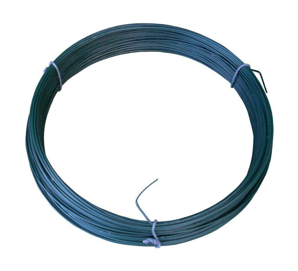 Green PVC Coated Tying Wire | Jacksons Fencing