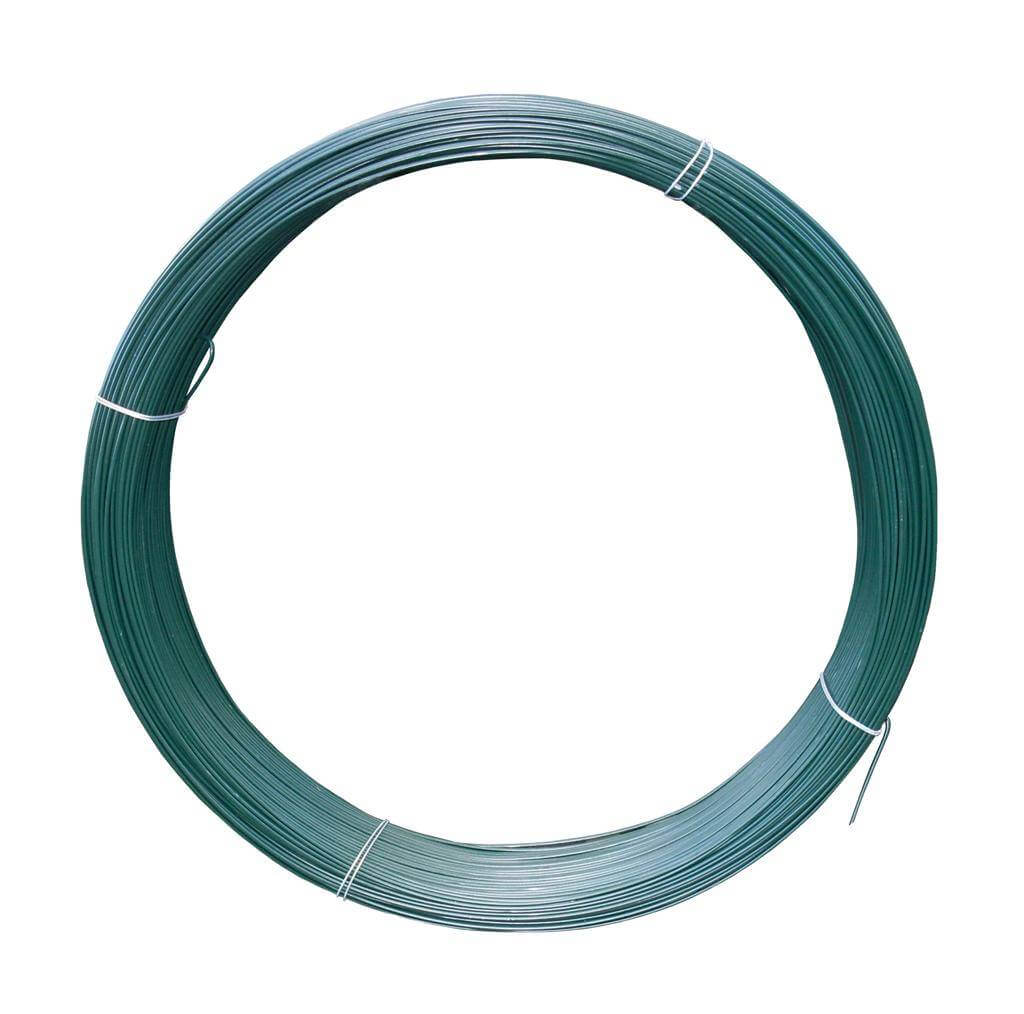 339500 - Green PVC Coated LWire