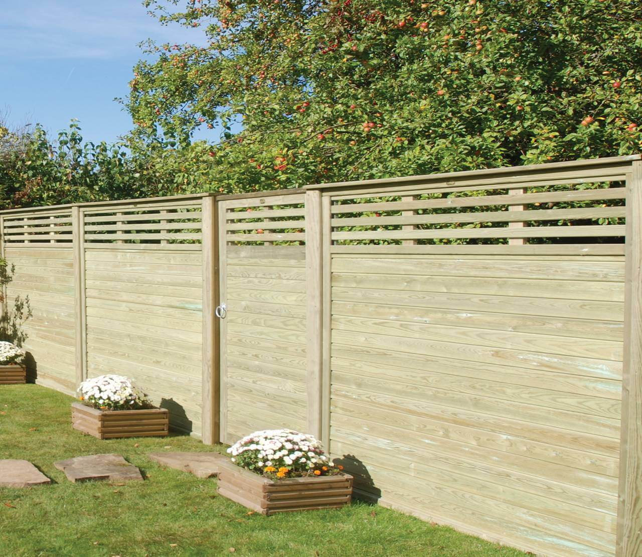 Canterbury Combi Panels with Gate