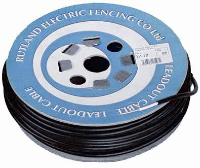 Lead Out Cable 1.6mm steel core   Jacksons Fencing