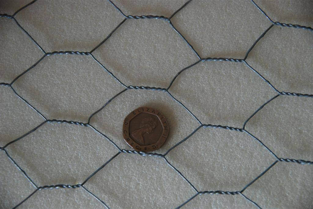 31mm Wire Mesh detail