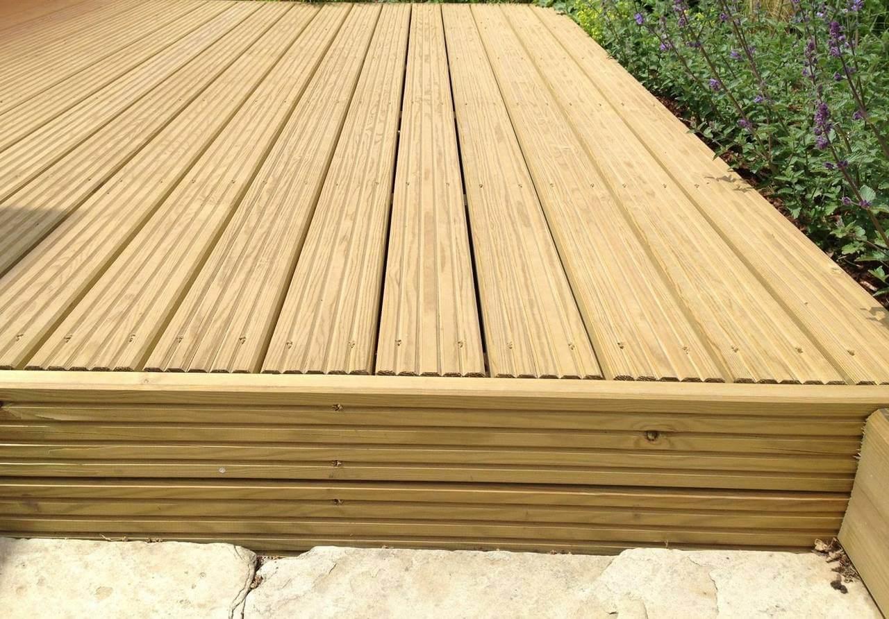 3.6 Timber decking.