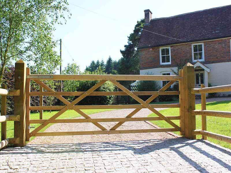handmade entrance gate