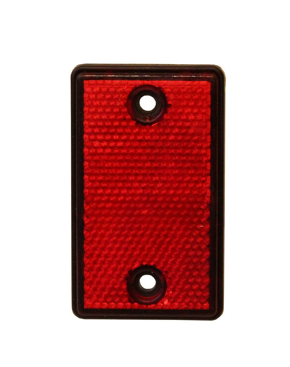 Red post reflector
