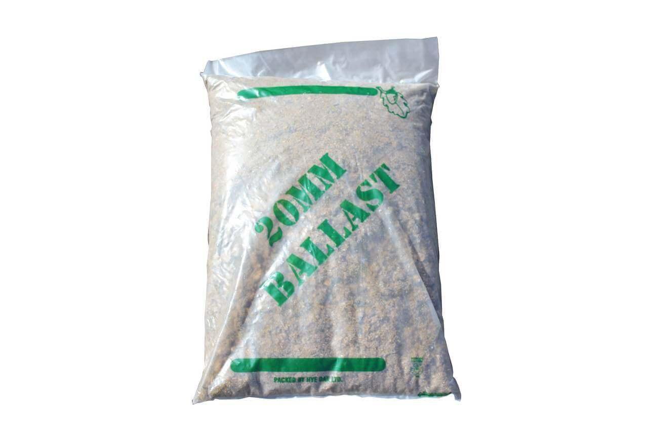 Ballast Bag 20mm All-in (Mini) - Approx 25kg. Use with cement to make concrete