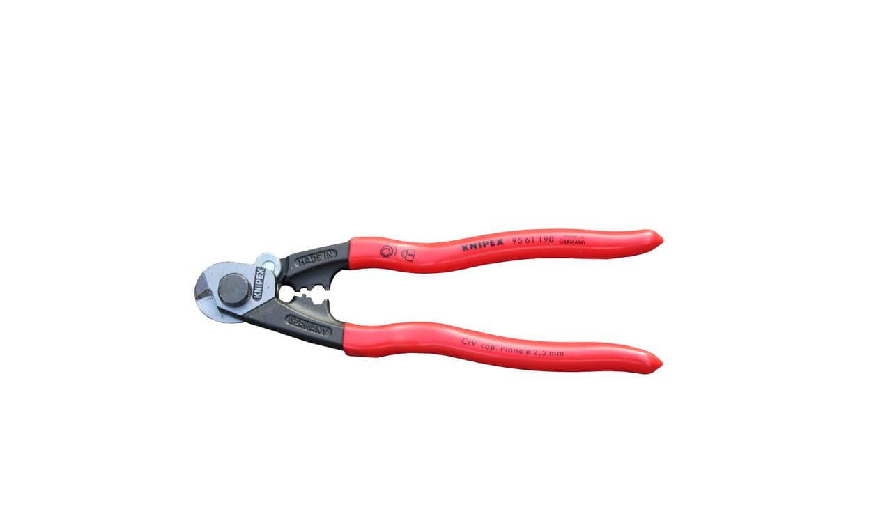 Knipex rope wire cutters