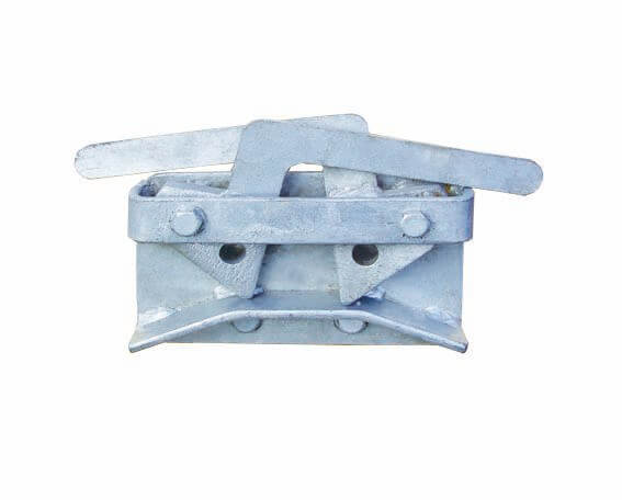 Two way galvanised latch