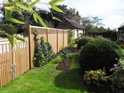 Paliframe Fence Panels and Gate
