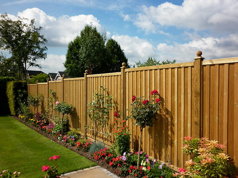 Fence panels modern solid