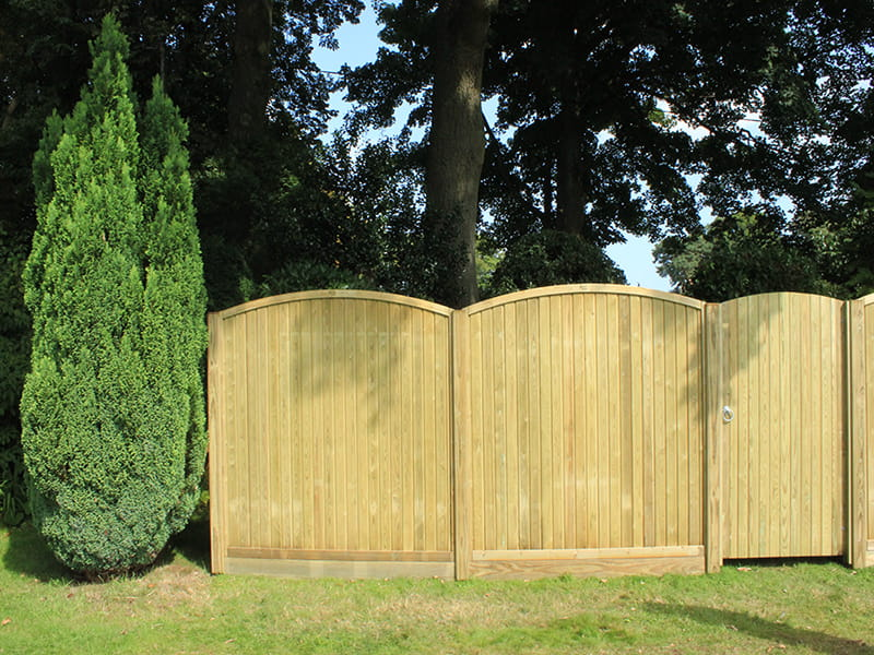 tongue and groove effect fence panels for sale