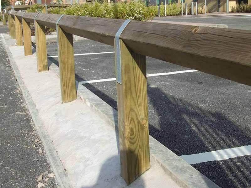 Diamond Wood Rail Fences