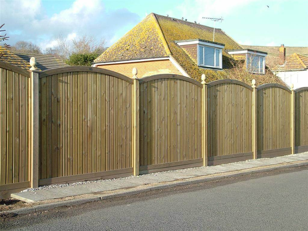 fence panels.  Panels Fencing Panels Tongue U0026 Groove Effect Convex In Fence
