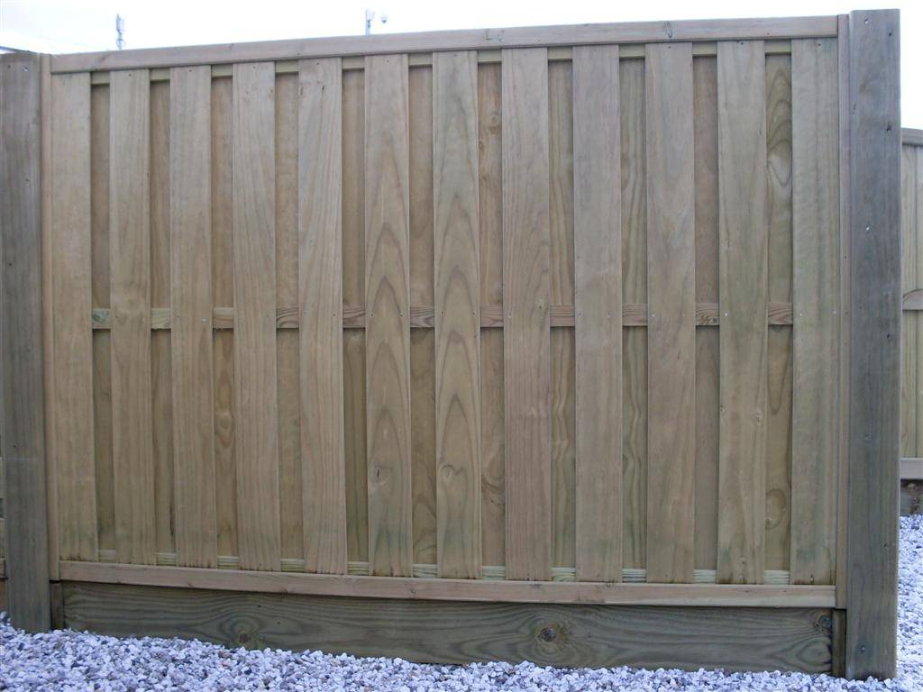 Hitt and Miss Vertical Fence Panel 634200