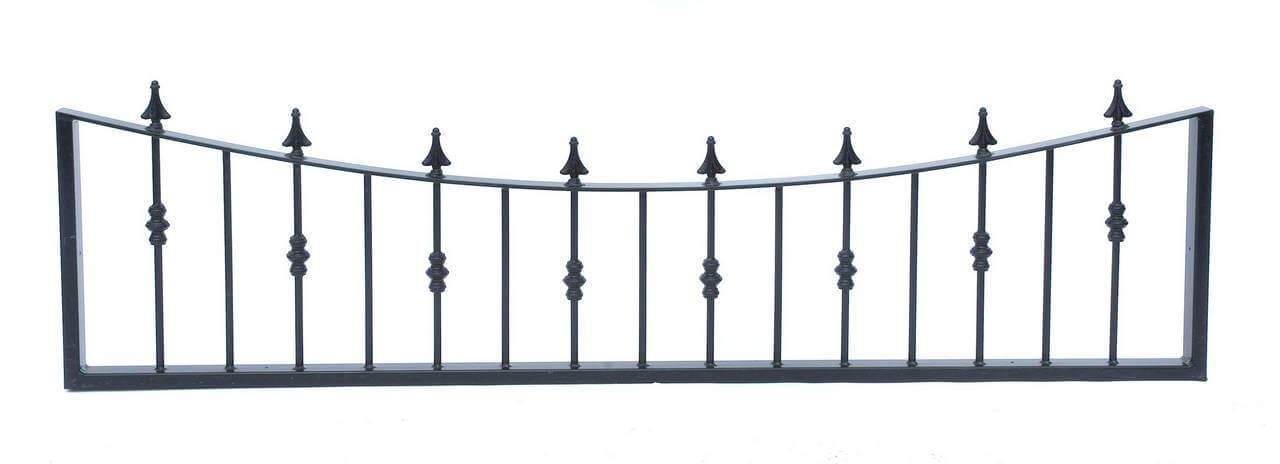 084201 - Concave Topper Railings