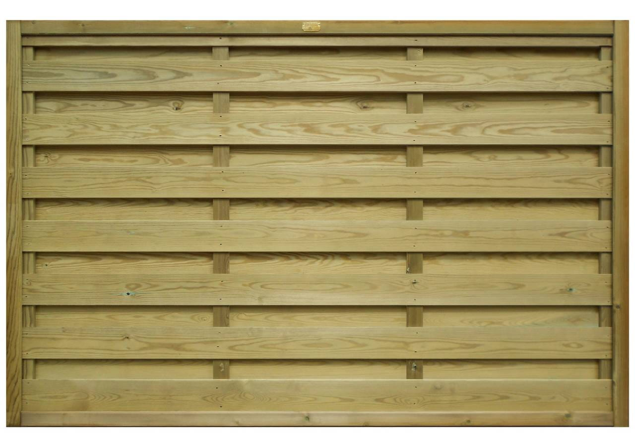 Hit and Miss Horizonal Timber Fence Panel 1220mm