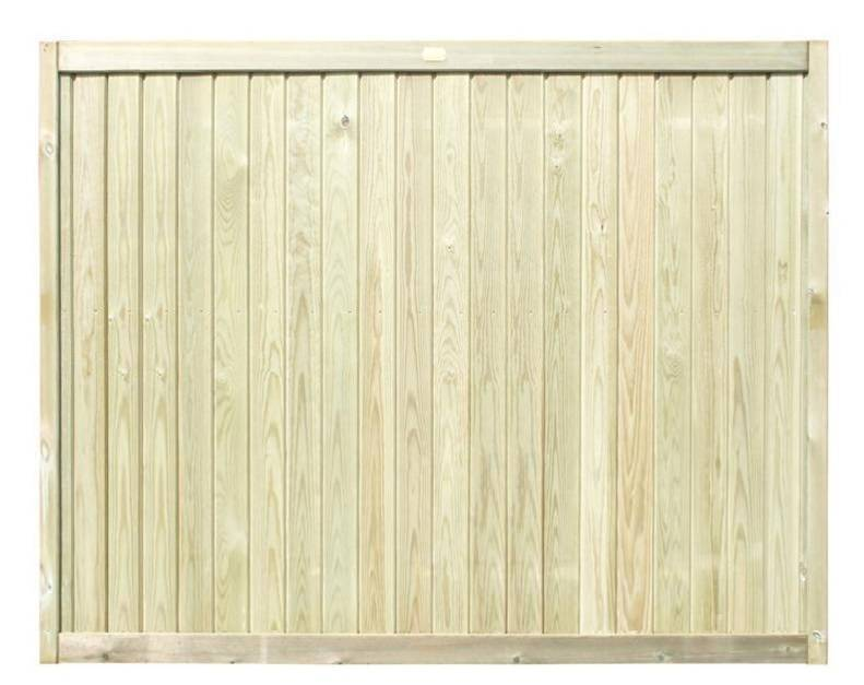 1520m Tongue and Groove Fence Panel