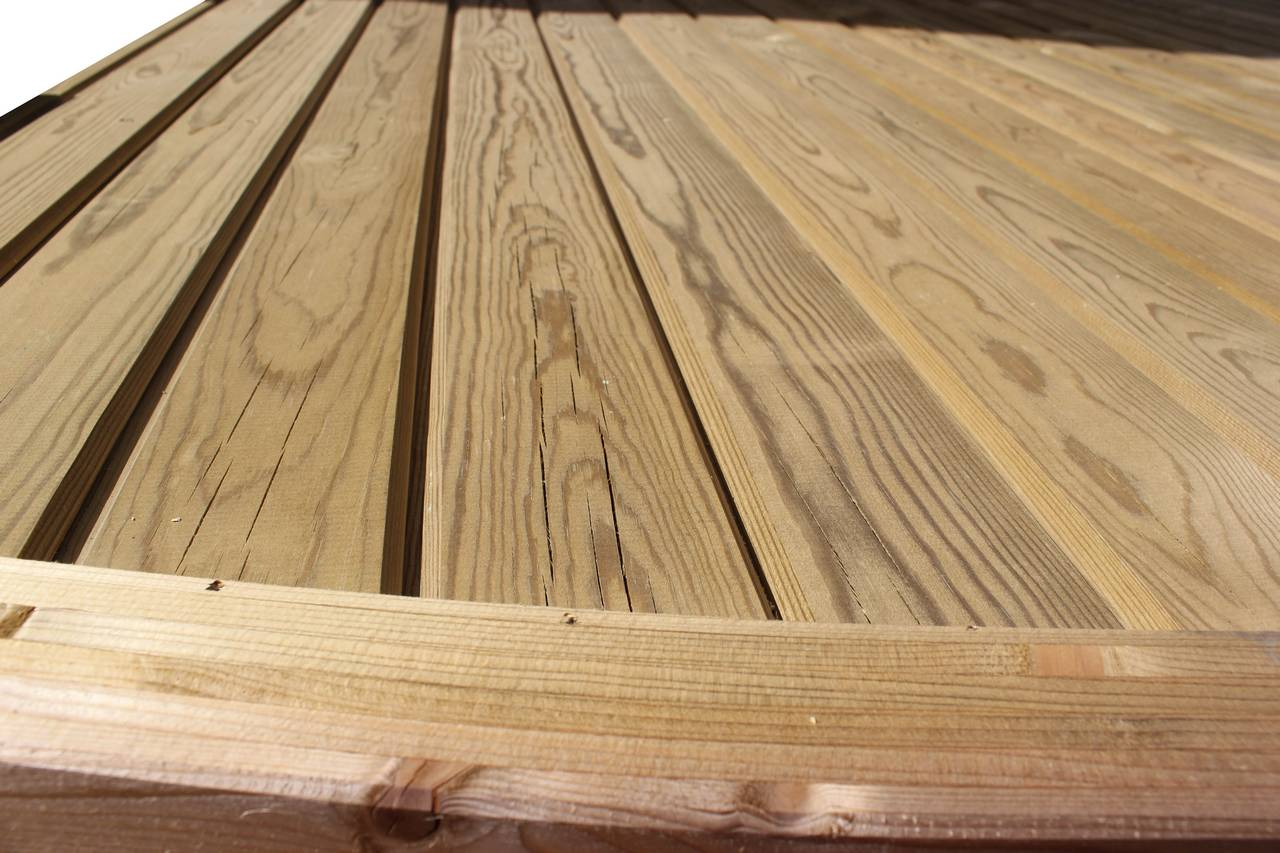 Tongue and groove fence panel