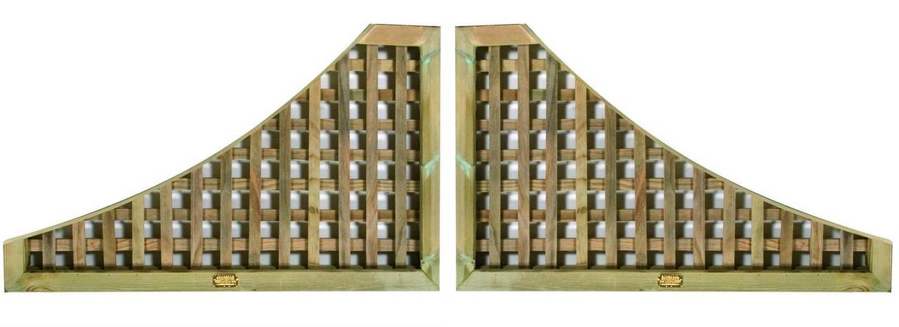 Pair wing Lattice Trellis Panels