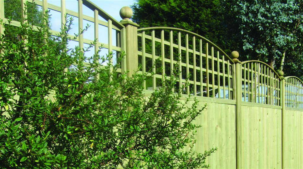 Convex Trellis Topper Panels