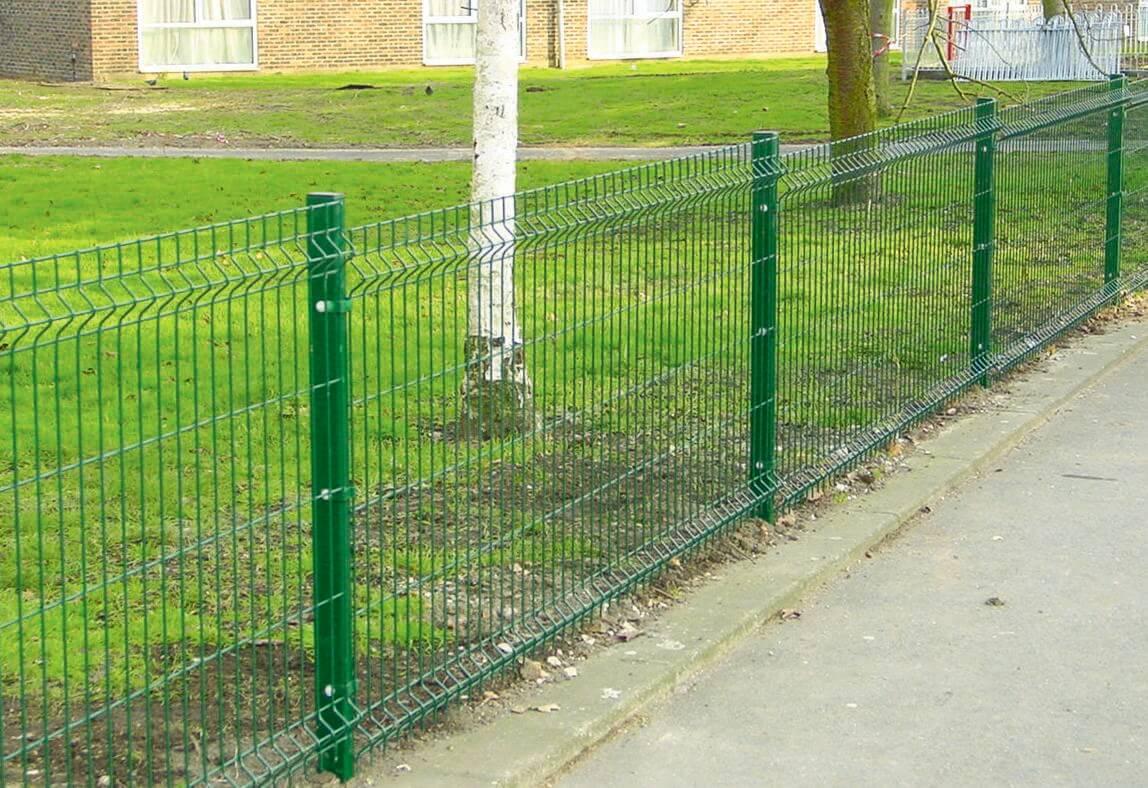 Metal fencing garden jacksons