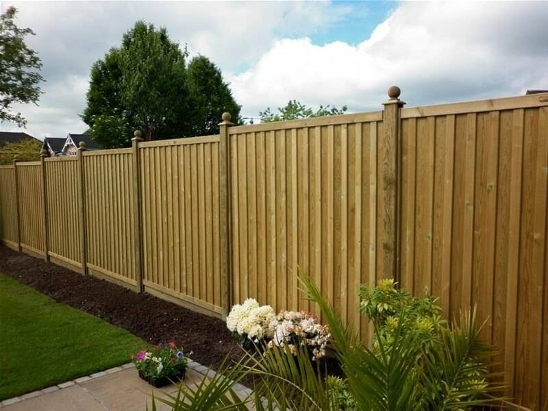 Chilham Double Sided Fence Panels | Jacksons Fencing