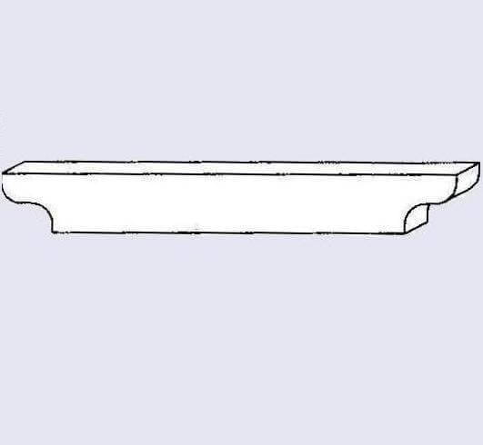 650320 - Double End side rail