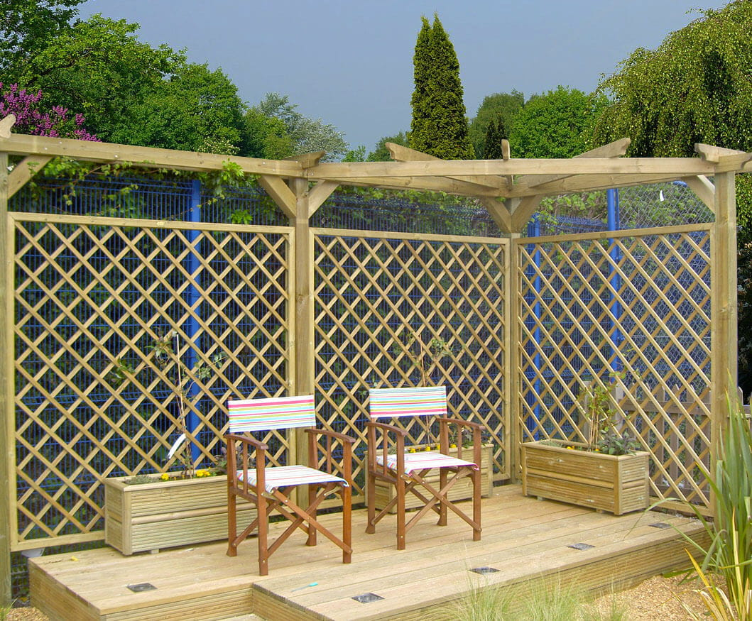Trellis Fence Panels