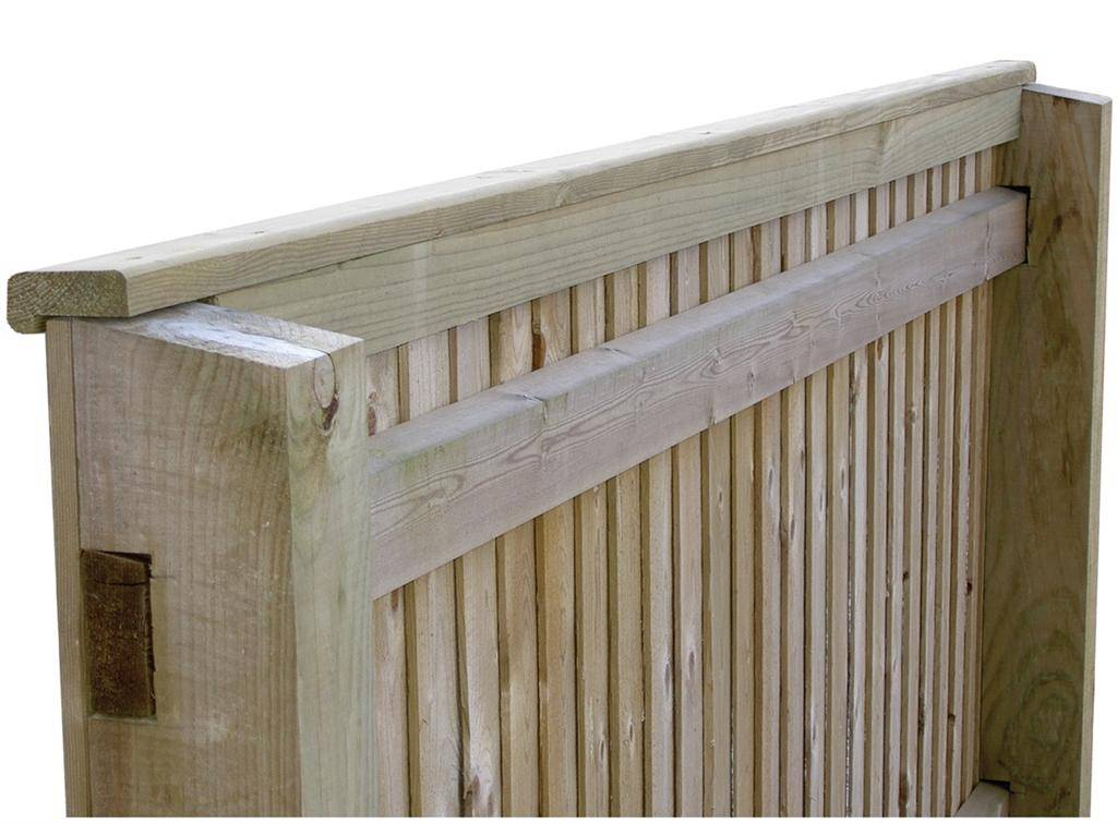 Traditional Featherboard Capping Rail 232200BM