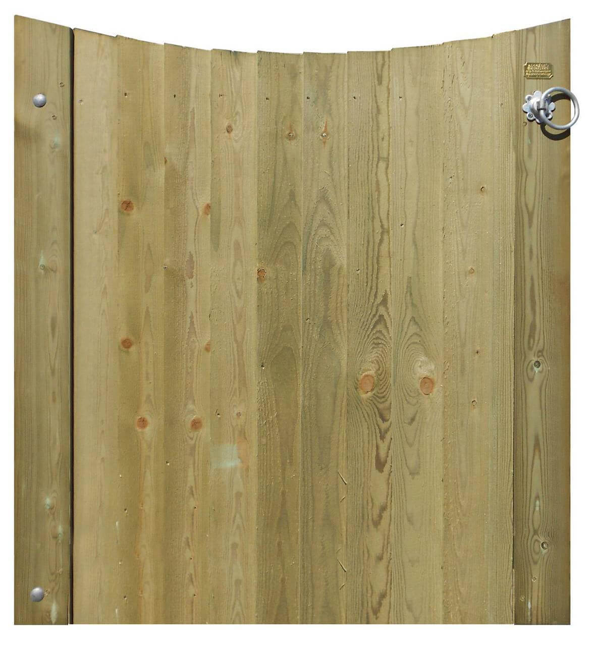 Short Concave CloseBoard Gate 231111